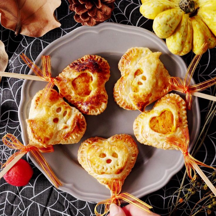 There's nothing scary about pumpkin pie on a stick, except for when it's all gone.