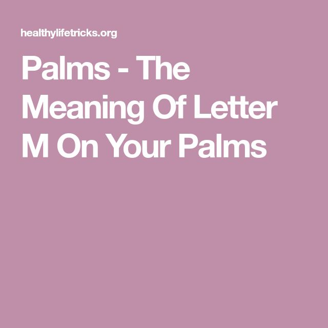 Best 25+ Palm Lines Meaning Ideas On Pinterest