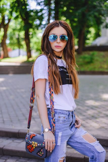 #blog #blogger #look #lookbook #jeans #okulary #girl #style #stylish