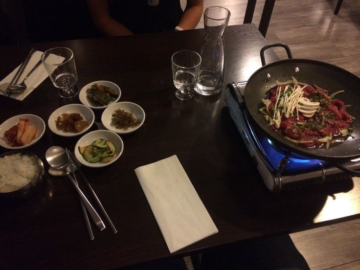 Korean food in Paris
