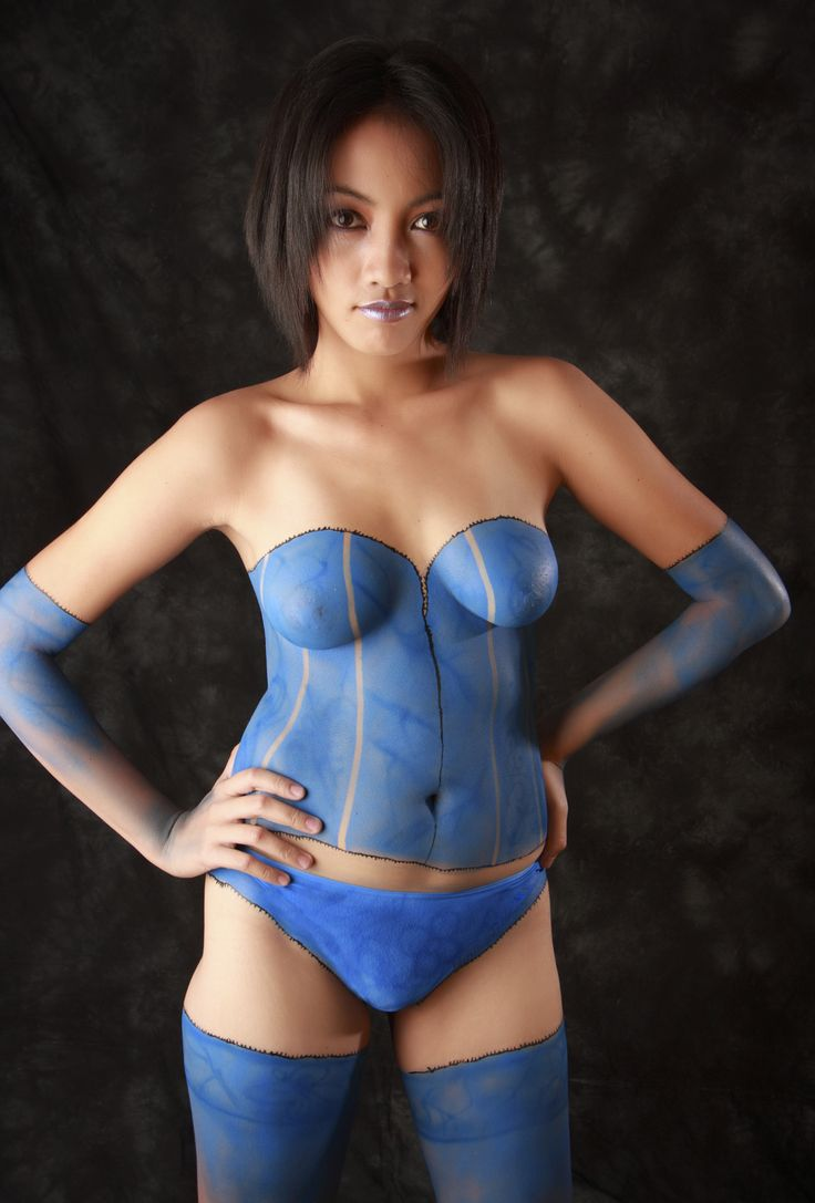 Pop Art Body Paint