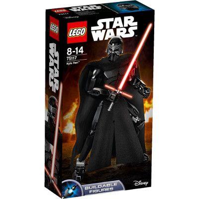 Chollo en Amazon España: Juego de construcción LEGO Star Wars Kylo Ren, solo 15,50€ (rebaja 43% del precio de venta recomendado y precio mínimo histórico)