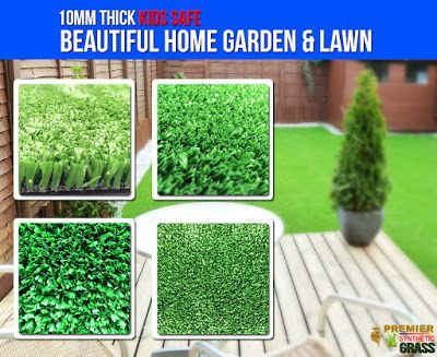 Beautiful Synthetic Lawn : Beautiful Synthetic Garden & Lawn Kids Safe click ...
