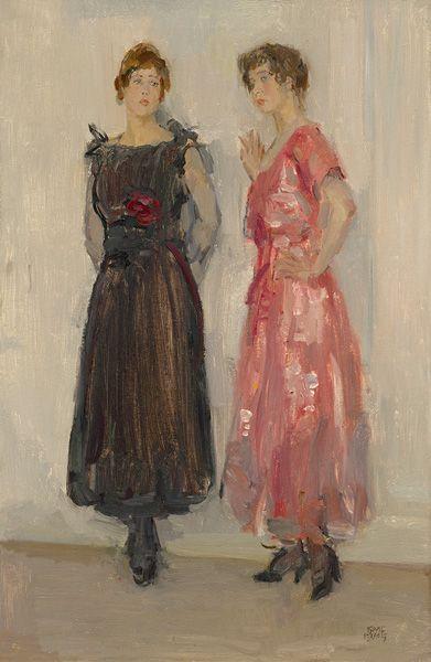 Isaac Israels - Ippy en Gertie Bij Hirsch (1916)