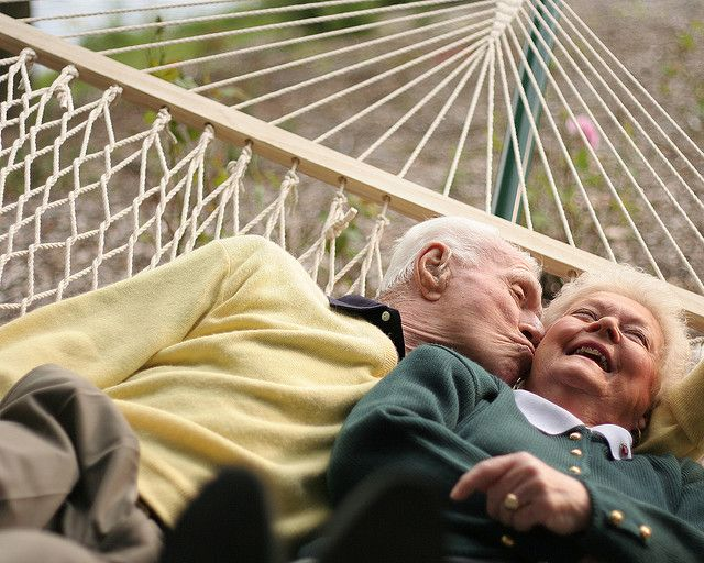 Aw! There are so many cute young couples, but what about the adorable couples who may have been together for decades? <3