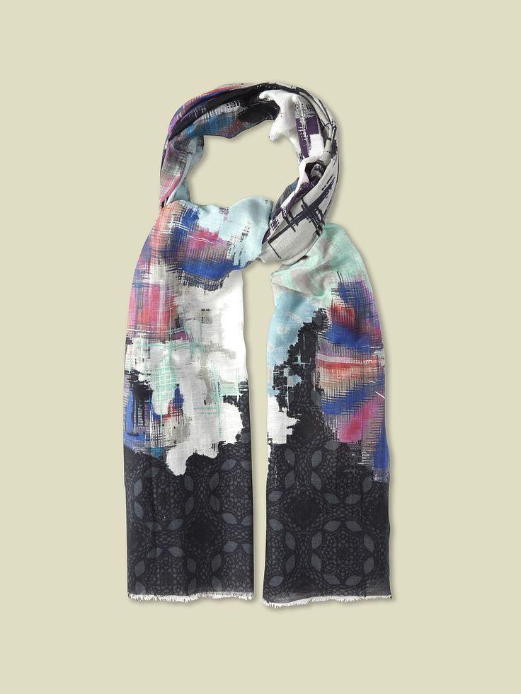 Multi ikat scarf