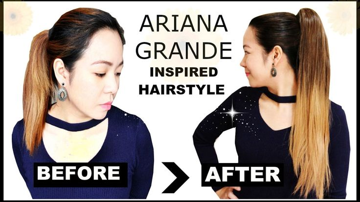HairStyle Makeover- Ariana Grande Hairstyle- Get Instant Thick & Long Po...