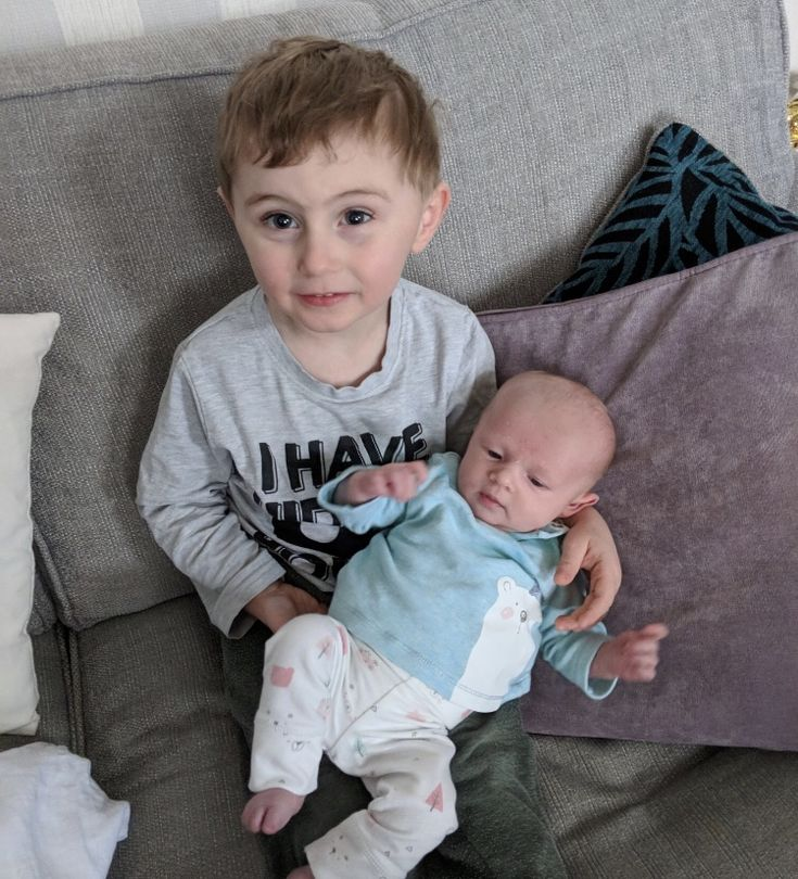 Cousins Freddie and Olivia 💛