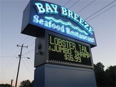 BAY BREEZE SEAFOOD RESTAURANT is one of our office favorites! Friendly people, good food and quick service.