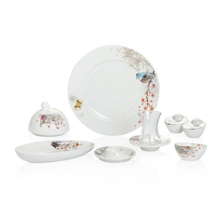 Bernardo Spring Time Kahvaltı Takımı / Breakfast Time #bernardo #breakfasttime #teatime #vintage #flower #tabledesign