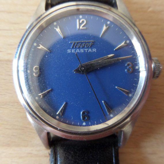 TISSOT SEASTAR - 1957 Vintage Guaranteed Genuine, Swiss made Gents/Mens mehanical mechainsim wrist watch