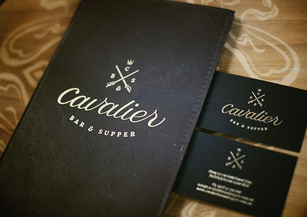 Cavalier Bar and Supper restaurant design