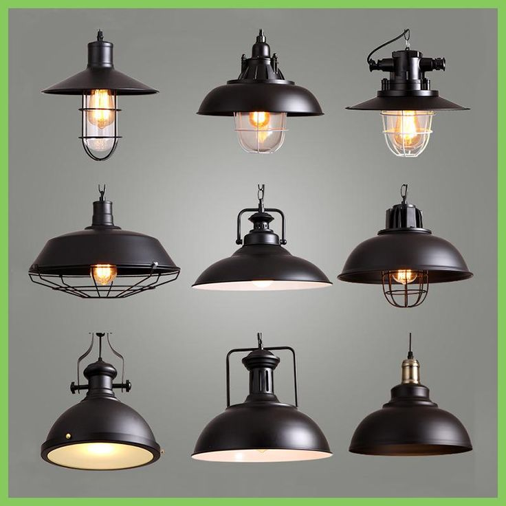 Industrial Style Retro Pendant Lights Vintage Pendant Lamp Hanging Lamp with E27 Led Bulb Dormitorio Dinning Room Kitchen Bar