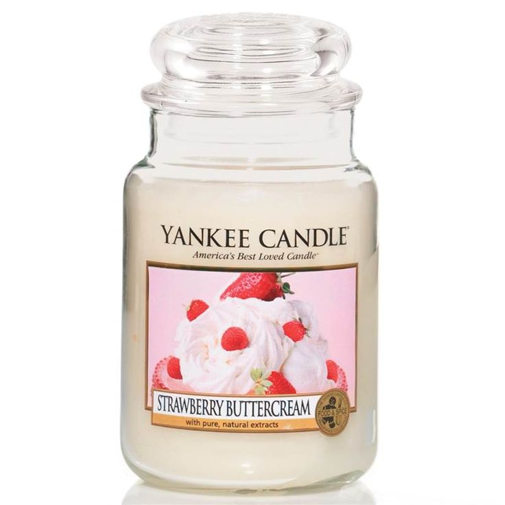 Yankee Candle - Grande jarre Strawberry Buttercream - Candlestore.fr