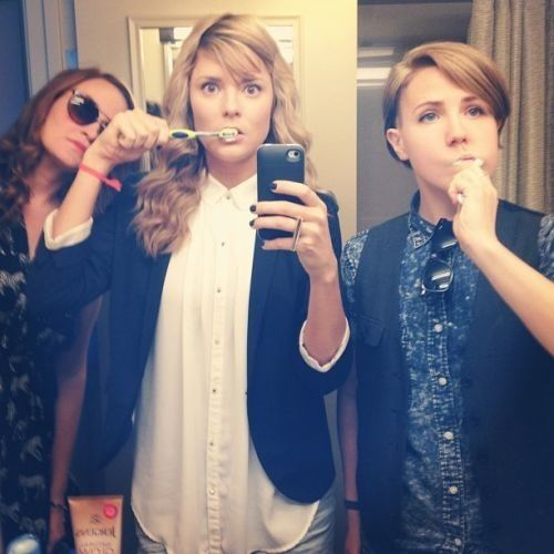 Mamrie Hart, Grace Helbig, & Hannah Hart  #NoFilter I want to see their show soooo bad!!!