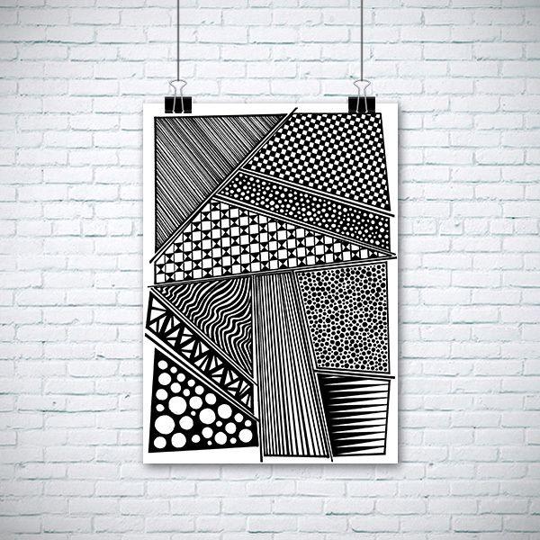 Plakat w  EnchantedCrayons na DaWanda.com