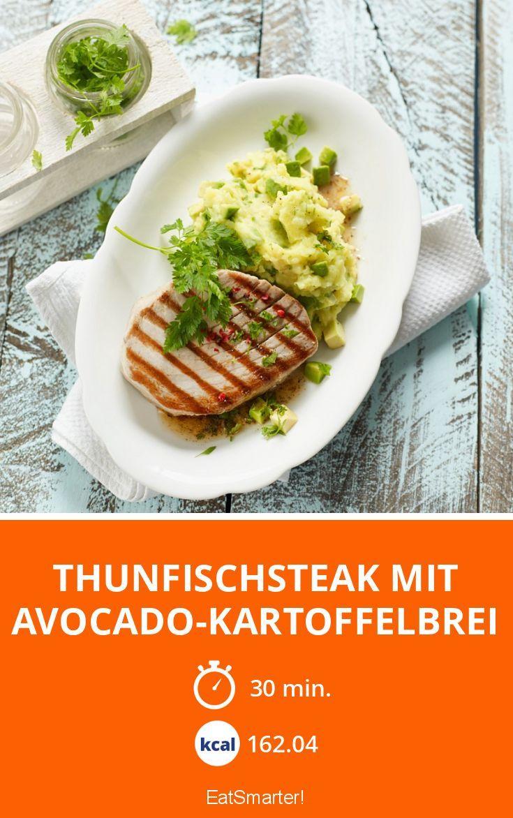 Thunfischsteak mit Avocado-Kartoffelbrei - smarter - Zeit: 30 Min.   eatsmarter.de