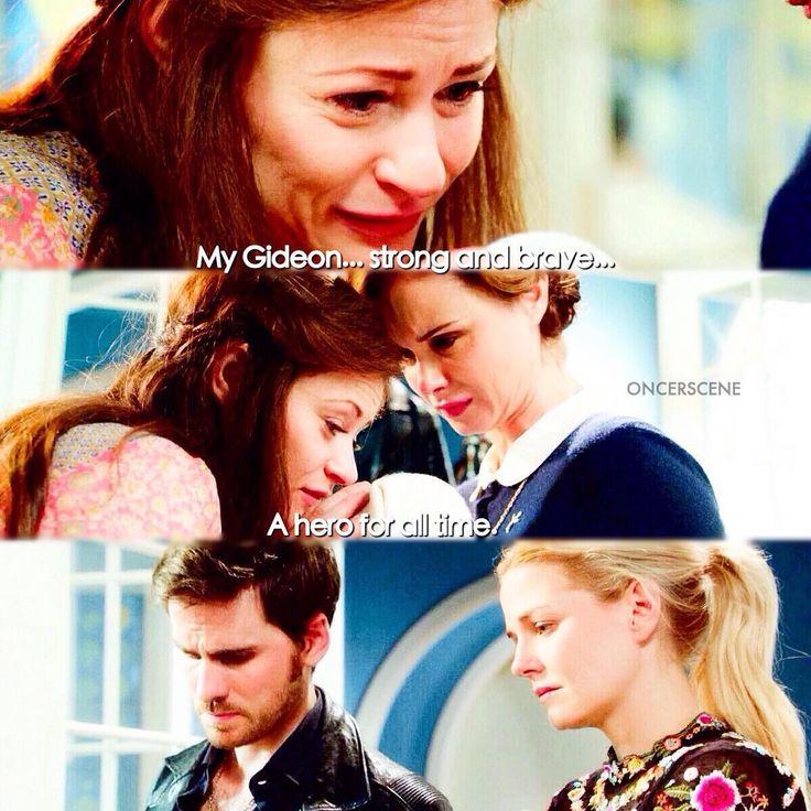 "Belle, Gideon, Blue, Emma and Killian - 6 * 9 ""Changlings"""