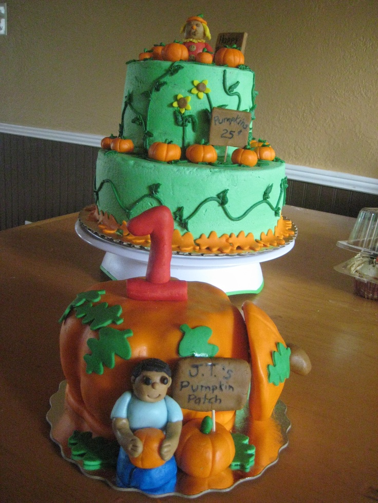Fall birthday cake and pumpkin sMaSh CaKe