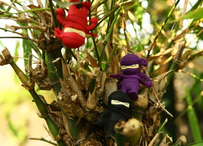 This ninja, available in three colours can cling onto wires and even climb metal surfaces with his magnetic hands. Be careful, or you might lose him in the shadows.