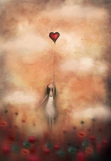 .: Picture, Heart Balloon, Quotes, Illustration, My Heart, Phrases, Things, Amanda Cass