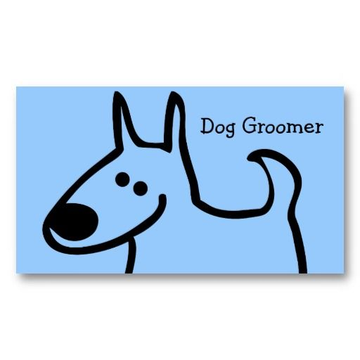16 best dog grooming business cards images on pinterest business dog grooming business cards solutioingenieria