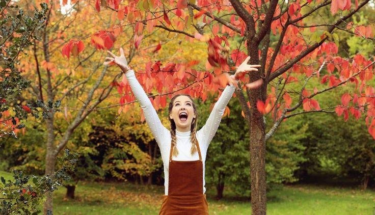 Zoella | Autumn Style | Pinafore & Plaits