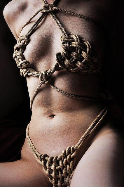 Recommend look Erotic rope bra