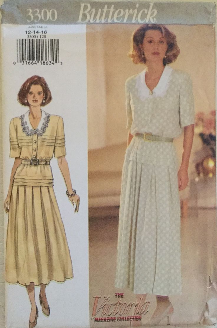 394 besten Misses\' Butterick Sewing Patterns at twogirlpugs@Bonanza ...