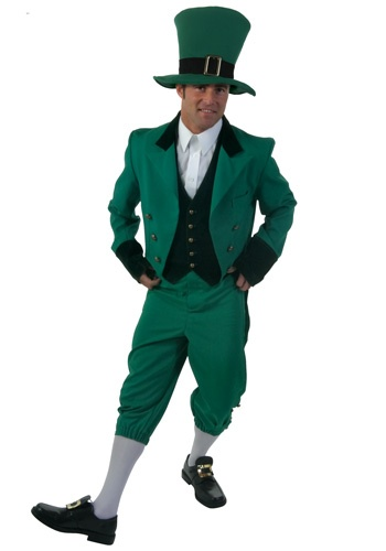 Adult Leprechaun costume #StPattys #StPatricksDay #Green