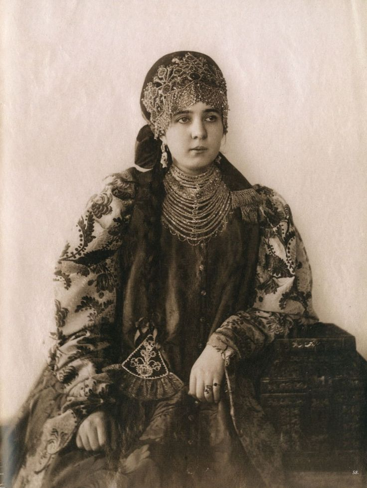 nord russia, national dress