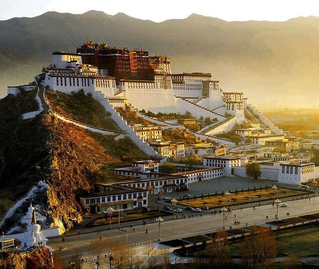 Potala Palace: Lhasa, Tibet. This building served as the residence of the Dalai Lama, as well as a monastery, mausoleum and governmental offices. That all changed in 1959, when the People's Liberation Army of China ousted the Dalai Lama and took control of Tibet and the palace. Sad.