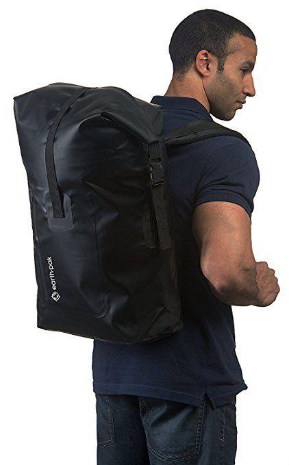 f32d8c1ef1f4 Amazon.com   Earth Pak Waterproof Backpack  35L   55L Heavy Duty Roll-
