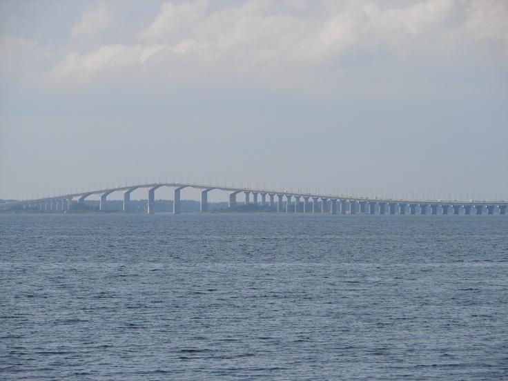 Bridge to Öland, Sweden