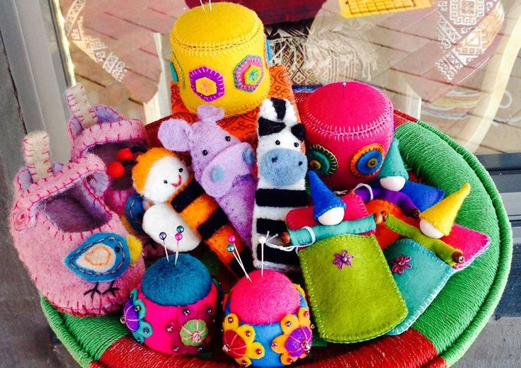 An assortment of felt goodies for children | All our felt pieces are handmade by our artisan producers in Nepal