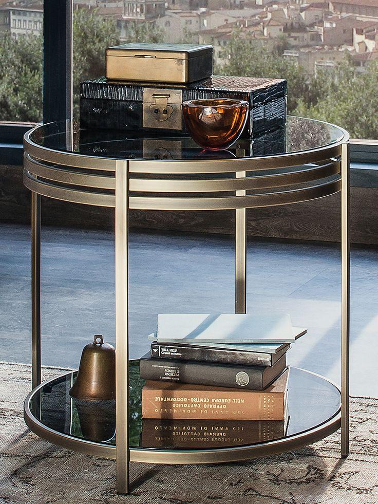 ULA Brass Coffee Table By Arketipo Design Giannella Ventura