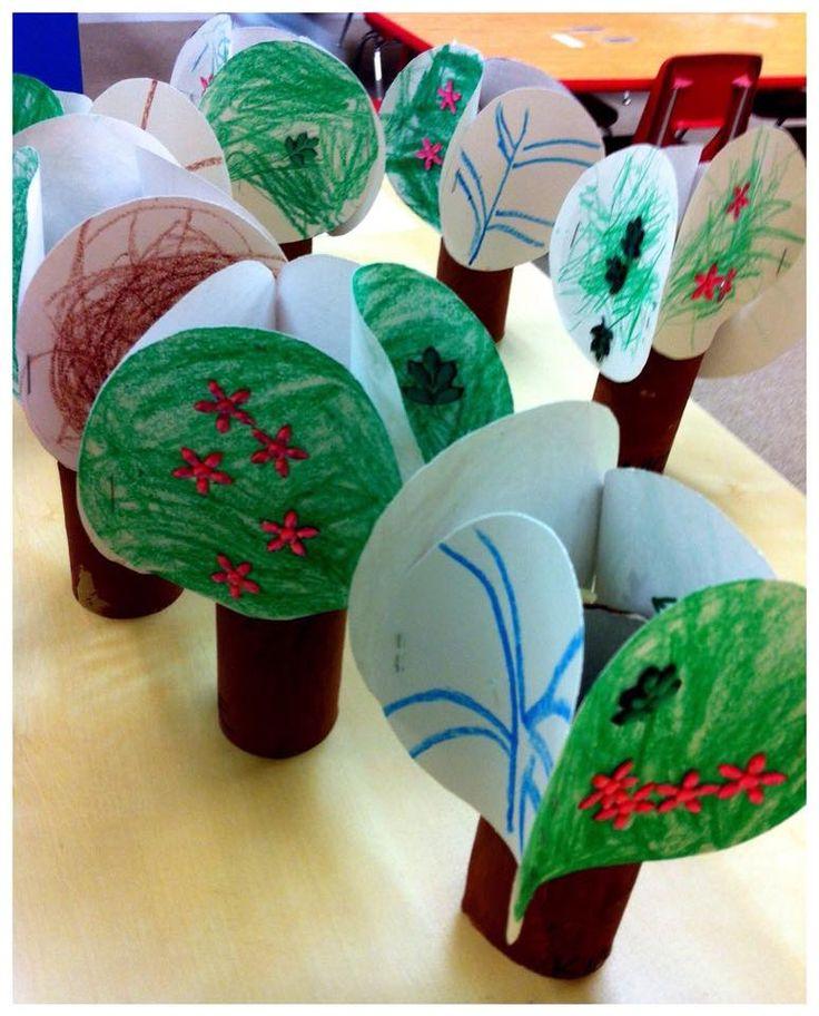 Boom met papierrol en cirkels - De kunst van het onderwijzen en leren | Facebook