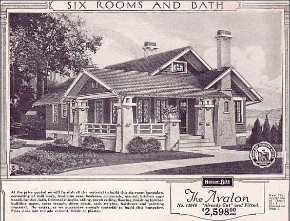 Craftsman Bungalow  Source: http://historichouseblog.com/2012/08/02/historic-style-spotlight-the-craftsman-bungalow/