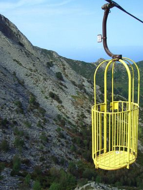 Cabinovia Monte Capanne – Marciana, Italy | Atlas Obscura