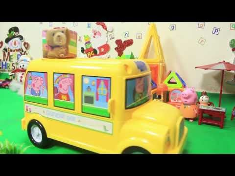 Peppa Pig Episodes in Toy City   Peppa's Christmas 2017   VOVA Toys