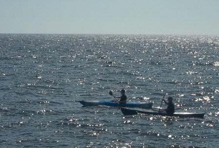 Kayaking Grenaa, Denmark July 2014