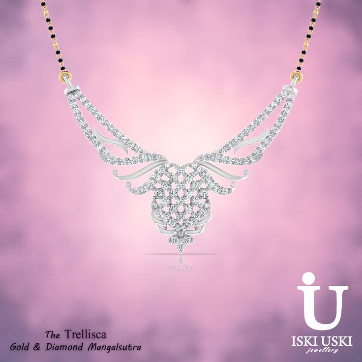 IskiUski.com - Largest collection of Gold & Diamond Mangalsutra in India!!   Buy online Mangalsutra shopping with free shipping!!    #Mangalsutra #Pendants #gold #jewellery #collection #womensjewellery   #girlsjewellery #stylish #fashionjewellery #Jewellerycollection #jewellerylove   #ethnic #traditionaljewellery #diamondjewellery #Indianjewellery   #goldmangalsutra #diamondmangalsutra #indianethnicwear #bridaljewellery   #diamondpendants #bridalaccessories #wedding #marriage #GoldPendants