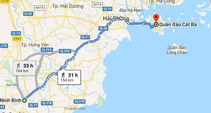 Comment aller à Cat Ba depuis Ninh Binh?