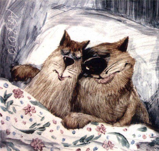 Отчего у мышек цветные как.шки. | Блог художника