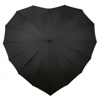 heart shaped umbrella ++ love umbrellas