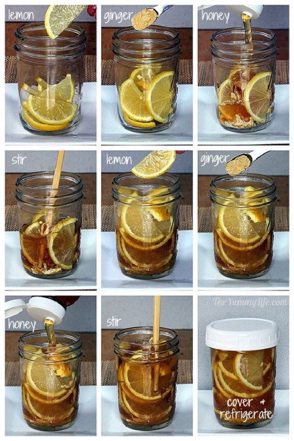 Homemade Syrup for Sore Throat