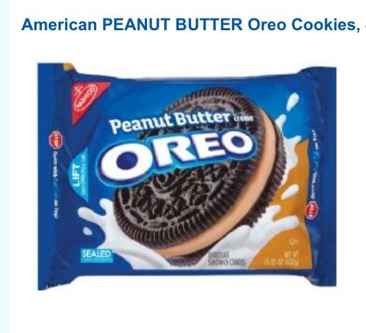 Peanut butter Oreos