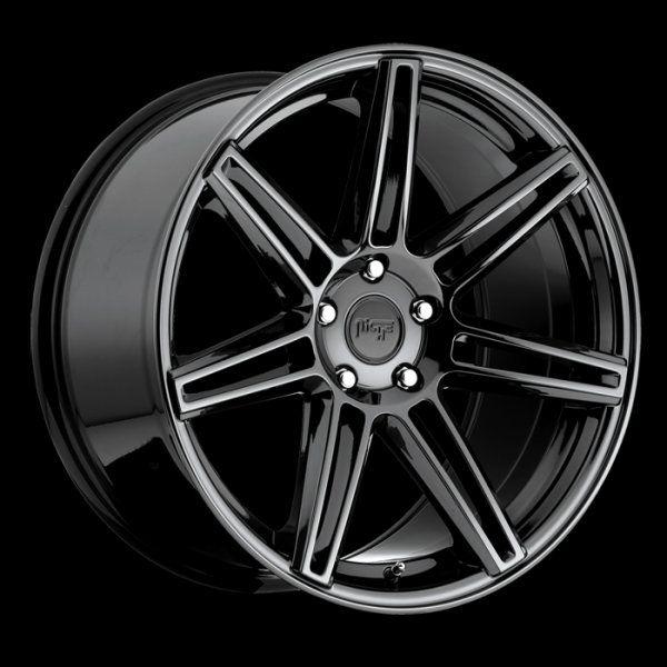 20x9 Niche Lucerne Black Chrome