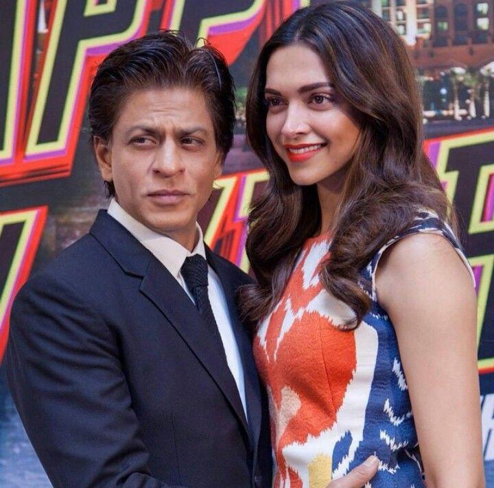 Deepika Padukone and Shahrukh Khan