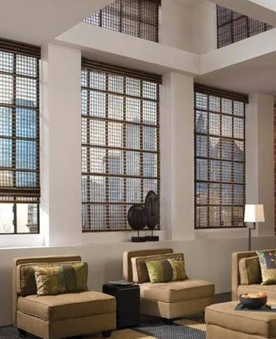 Attractive Window Shades from Lerner Interiors.